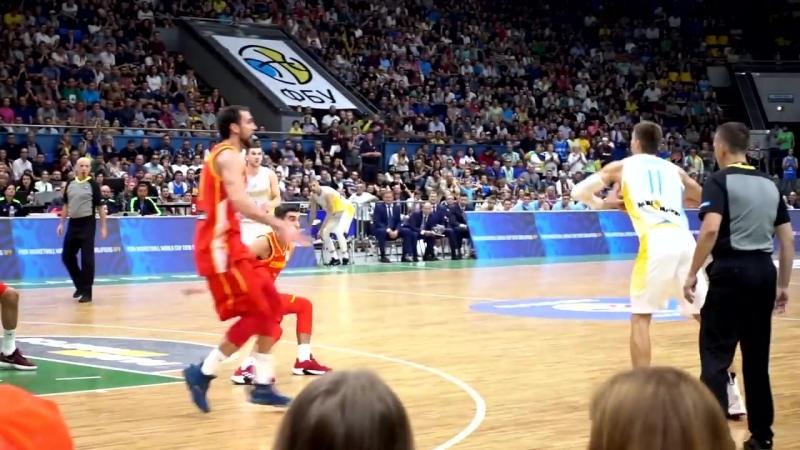 Украина - Испания. Выступаем на матче сборной - Smoove