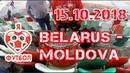 Футбол Беларусь-Молдова 0:0, 15.10.2018, сектор фанатов сборной