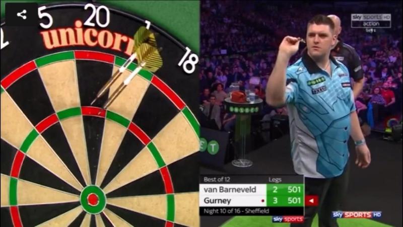 2018 Premier League of Darts 2018 Week 10 van Barneveld vs Gurney