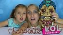 DIY Chocolate LOL Surprise Dolls Punk boi