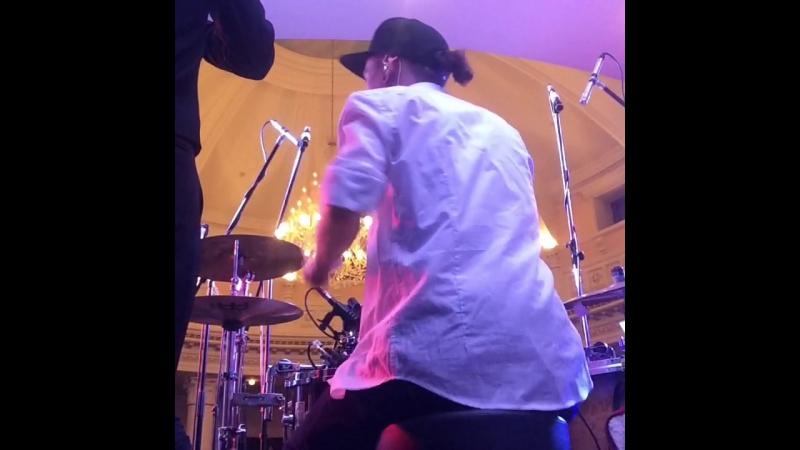 Jam Square - uptown funk drumcam
