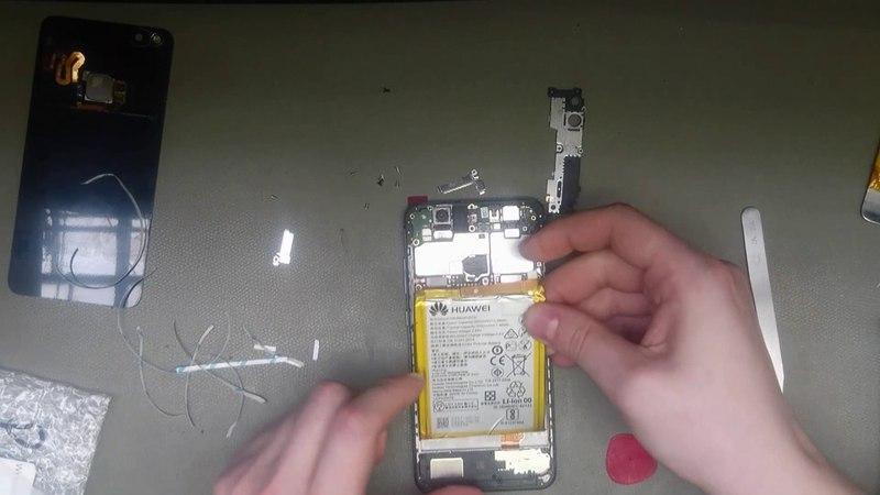 HUAWEI P10 lite WAS-LX1 Disassembly/replace display digitizer
