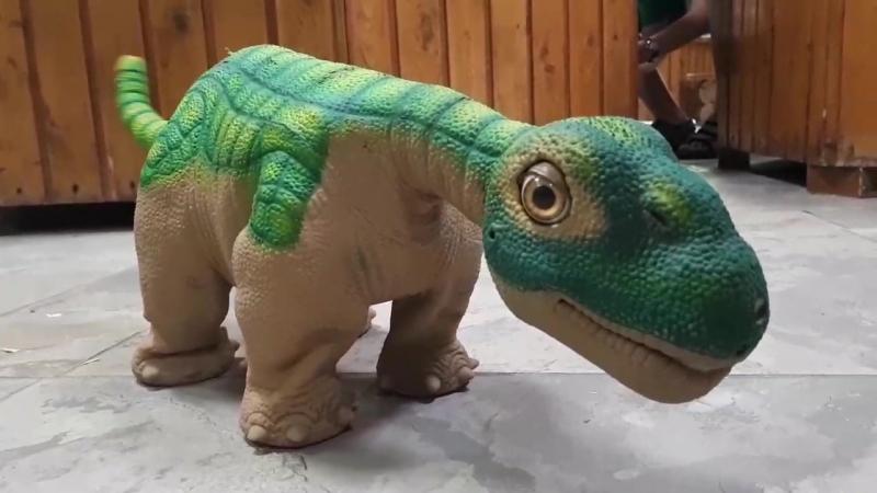 Динозавр PLEO_Орел_выставка роботов-животных