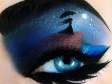Искусство-Боди арт.Хорошая идея для макияжа.