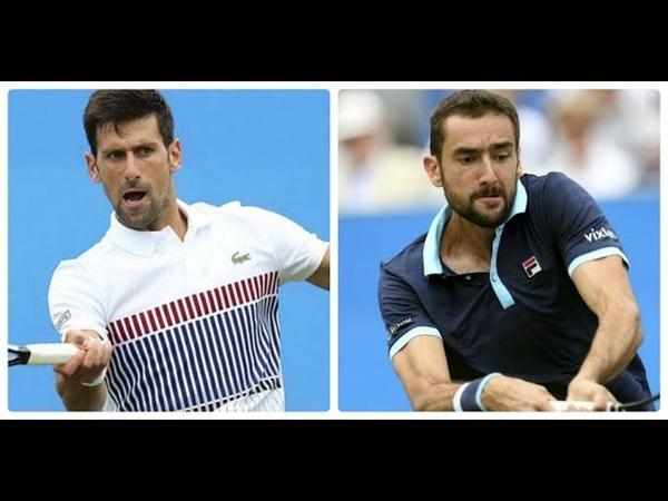 Novak Djokovic vs Marin Cilic HIGHLIGHTS CINCINNATI 2018 SF