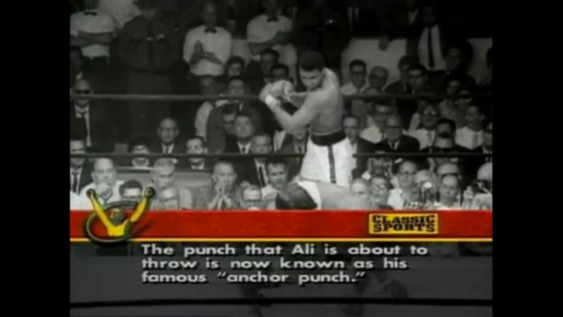 Ali vs Liston Fight 2 1st Round Knockout