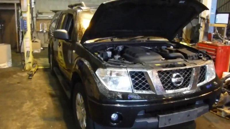 Авторазбор Nissan Navara 2004 2.5 YD25D АКПП 94т