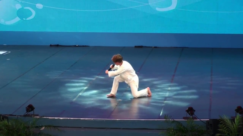 Рутгер Гарехт и ТМТ Щелкунчик на Международном детском фестивале фольклора и фолк игр в Илане Тайвань