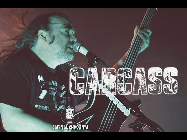 Carcass LIVE in Sacramento, California on Capital Chaos TV