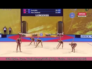 RHYTHMIC GYMNASTICS WC 2018 SOFIA, Finals-A 15.09.2018