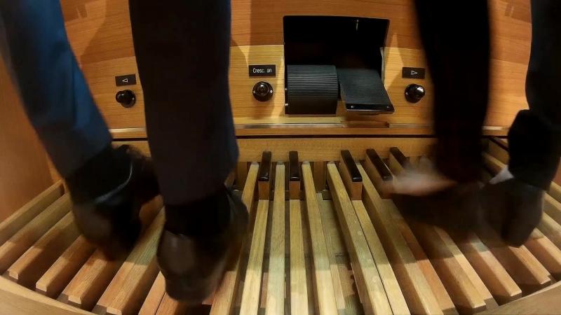 Иоганн Штраус-сын: Вальсы для дуэта органистов в четыре ноги