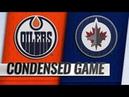 Edmonton Oilers vs Winnipeg Jets – Oct.16, 2018 | Game Highlights | NHL 18/19 | Обзор матча