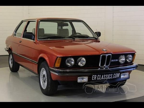 BMW 323i coupe E 21 1981 - VIDEO - www.ERclassics.com