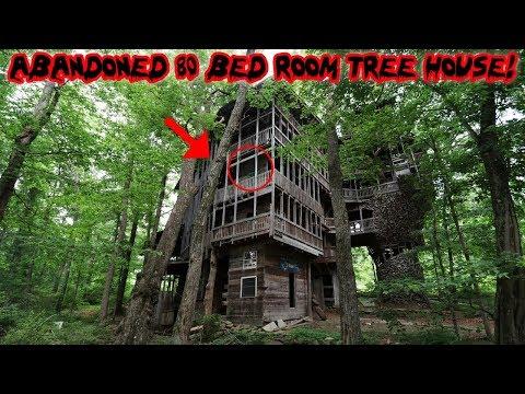 WORLDS LARGEST ABANDONED TREE MANSION! *80 BEDROOMS* | MOE SARGI