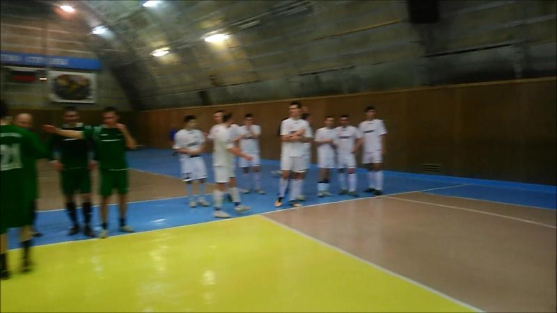 Центральный матч 3 тура мини футбол 2018г 04 01 2018 Цесла Автомобилист