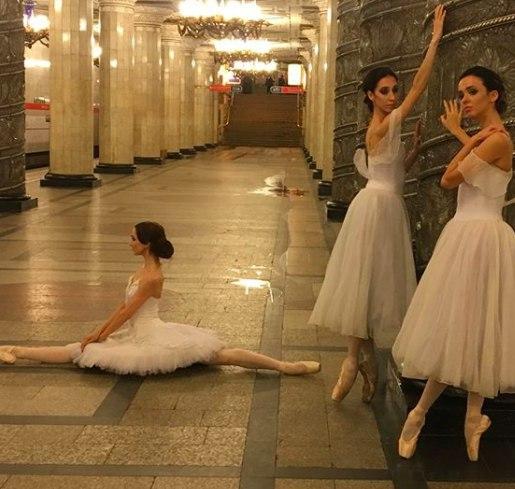 В петербургском метро будут показывать балет