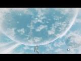 Десантирование с околопланетной орбиты на планету в No Mans Sky.