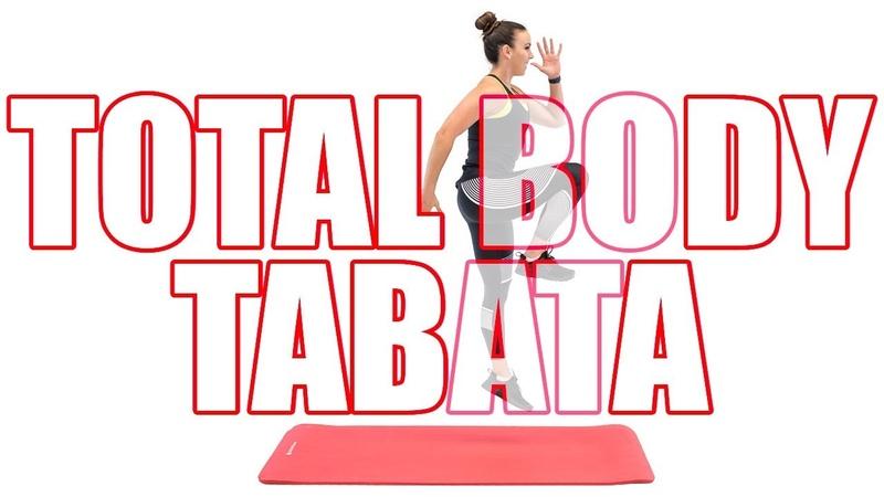 Sydney Cummings - Full Body Tabata Workout   Табата-тренировка для всего тела