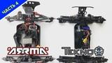 Tekno MT410 VS Arrma Outcast часть 4