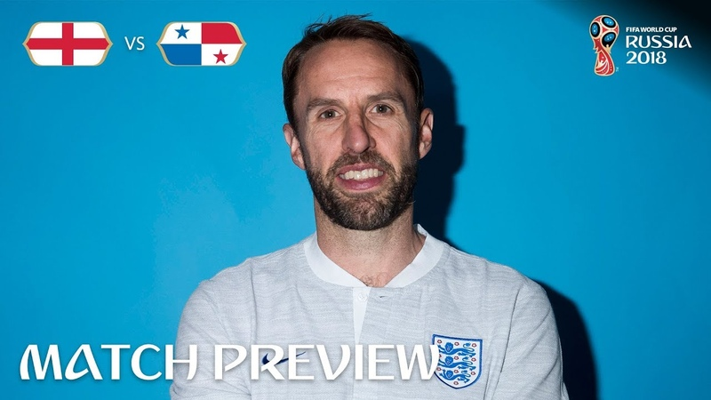 Gareth Southgate (England) - Match 30 Preview - 2018 FIFA World Cup™