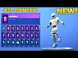 *NEW* OVERTAKER SKIN SHOWCASE WITH ALL FORTNITE DANCES/EMOTES & NEW DANCES! (New Fortnite Skin)