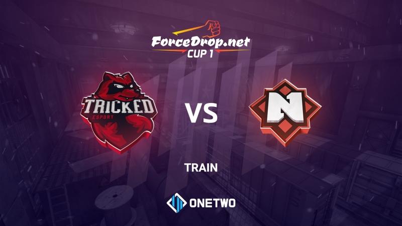 Tricked vs Nemiga (de_train) | ForceDrop.net Cup 1