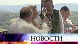 Традиционная австрийская свадьба Карин Кнайсль и Вольфганга Майлингера приобрела русский акцент.