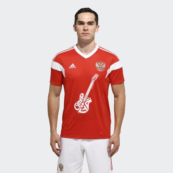 Футболка СуперГуд 2 by adidas x Сергей Шнуров