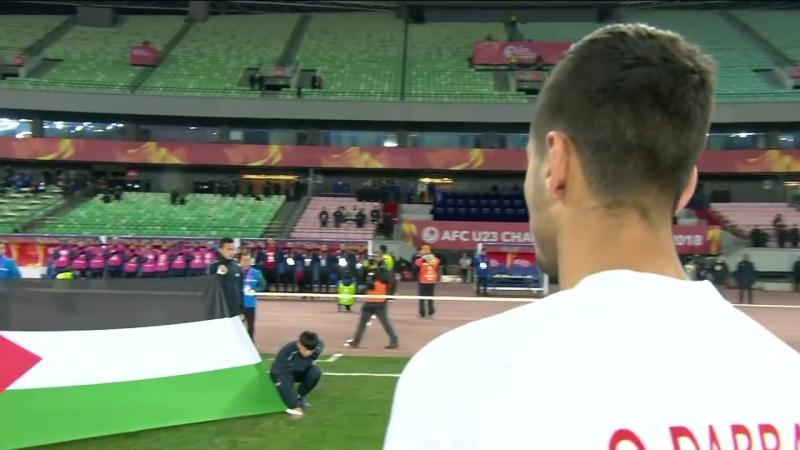 Молодежный Кубок Азии-U23-2018-В1-10.01.18. Япония - Палестина (1-0)