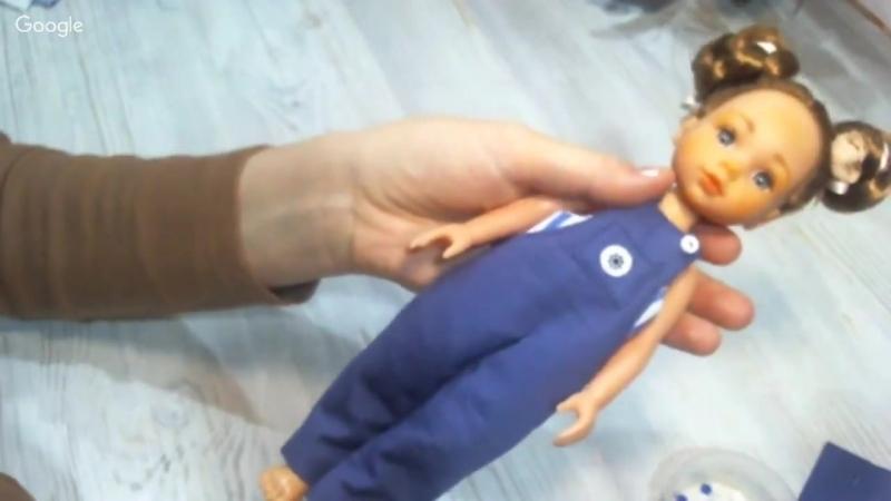 МК Альбины Глумовой. Комбинезон для Ваших малышек-куколок