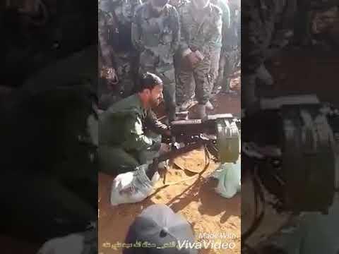 Учения Сил Тигра на границе Идлиба: генерал Сухейль Хассан целится из АГС-17