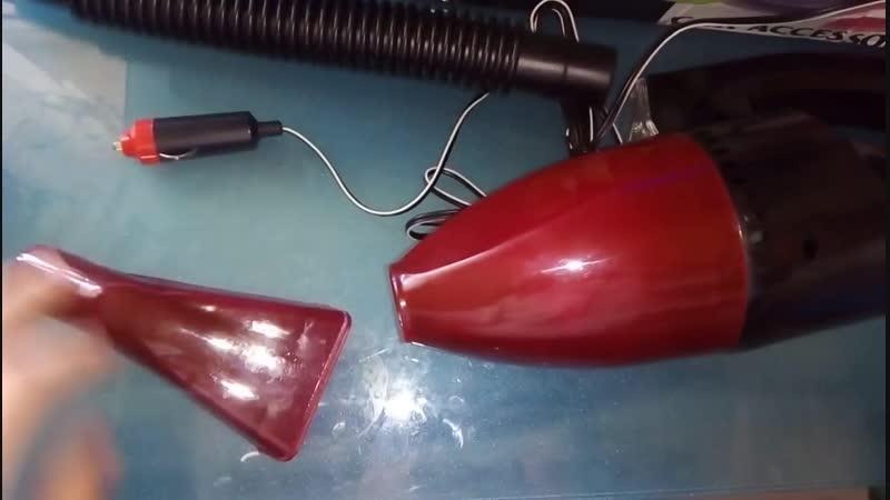 High Power Handy 12V Car Vacuum Cleaner