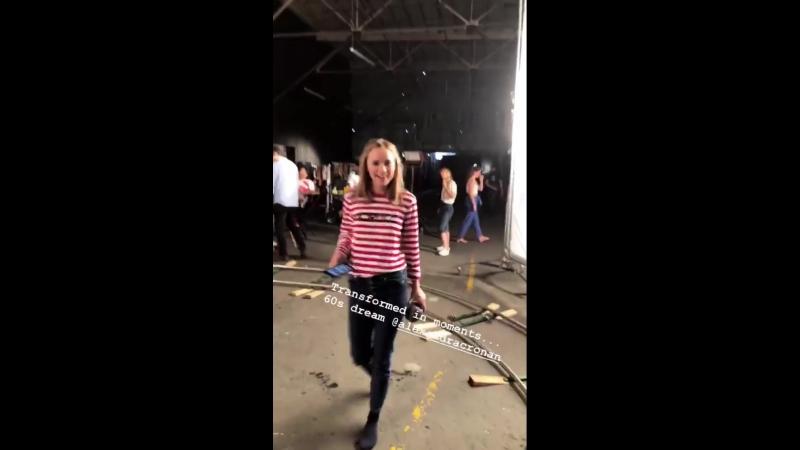 8 июня 2018 Съемки рекламного ролика Pop Suki