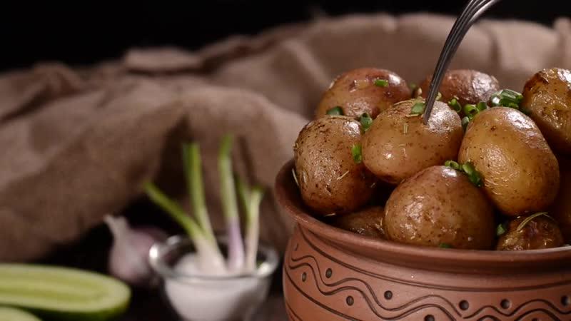Молодая картошка в духовке, вкуснющая и ароматная!