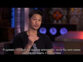 Exclusive clip: Shadowhunters Good Idea or Bad Idea: Dating Advice   RUS SUB   HS