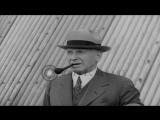 Passengers interviewed prior to boarding LZ 129 Hindenburg airship at Lakehurst N...HD Stock Footage