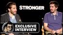 Jake Gyllenhaal Jeff Bauman STRONGER Exclusive Interview (JoBlo) TIFF 2017