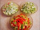 ВЕСЕННИЕ салаты Топ  3 быстрые и простые САЛАТЫ в приготовлении