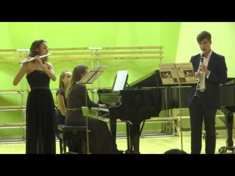 Шмитт Трио для флейты, кларнета и фортепиано