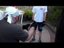 Упражнения с грушей 2 Тренировки Юры Руссова в Калифорнии 2013
