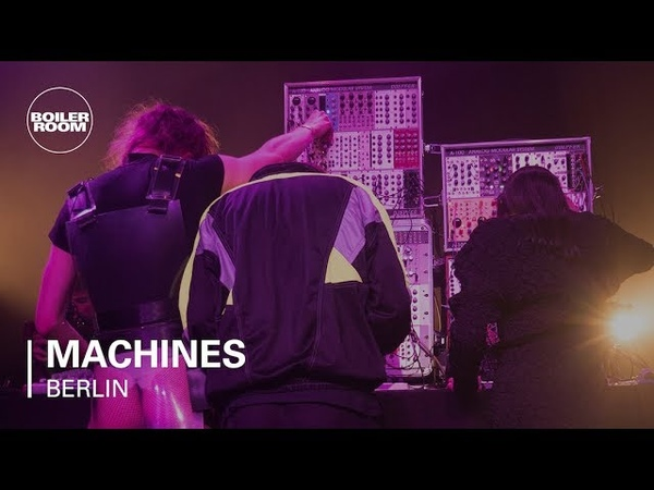Alex the Fairy Rachel Lyn Volruptus Uchi with Speedy J Boiler Room Machines Berlin
