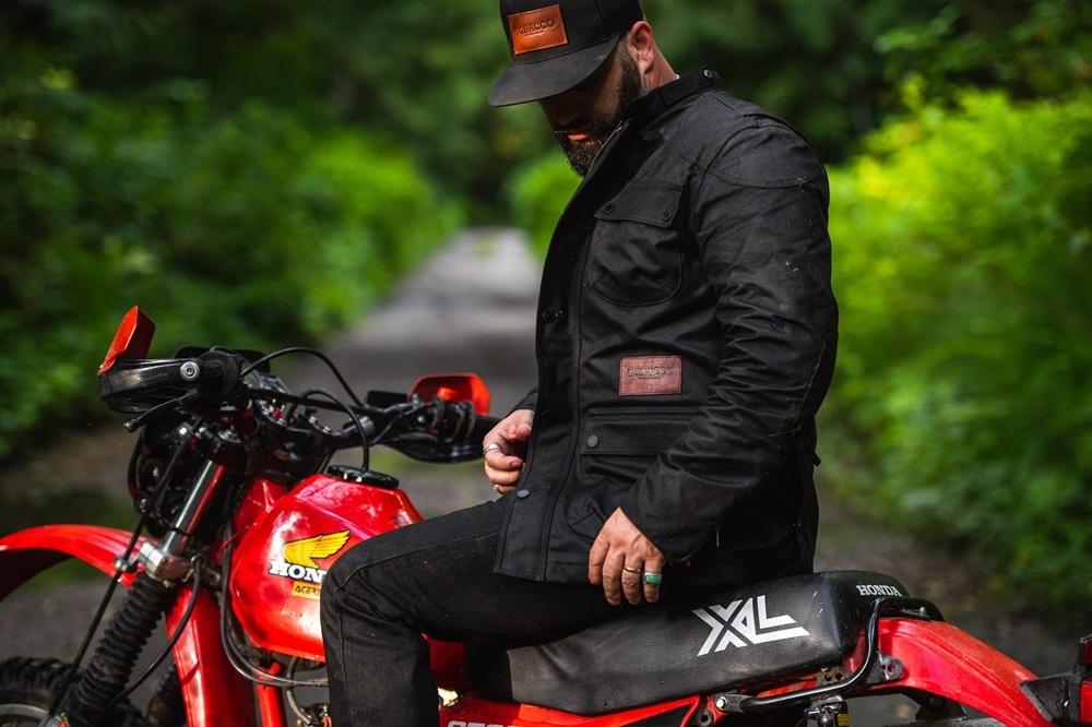 Мотокуртка Tobacco Motorwear McCoy