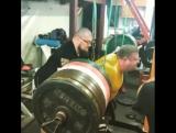 Влад Алхазов (Израиль), присед в бинтах - 465 кг на 2 раза 💪