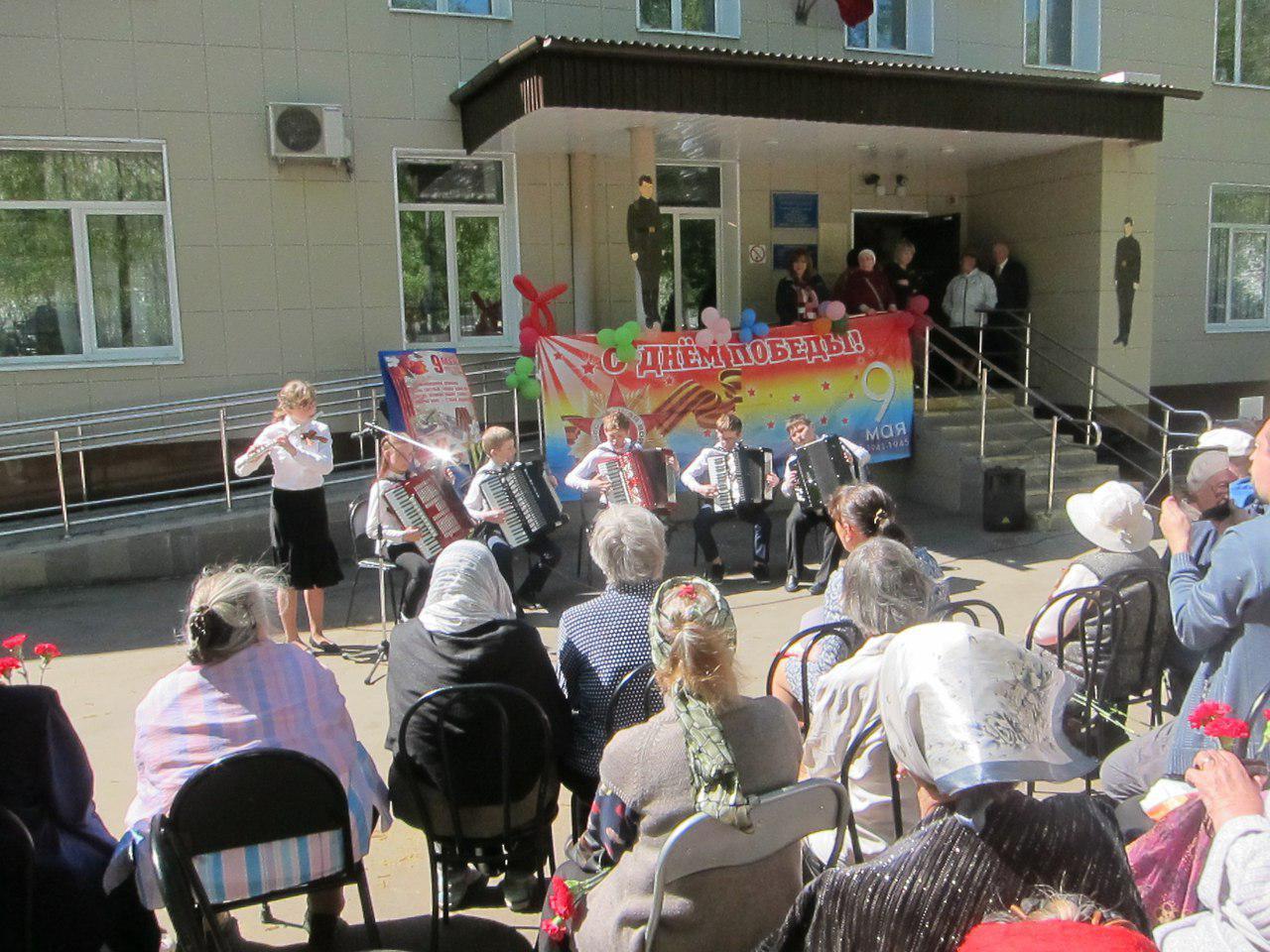 Празднование Дня Победы прошло в ЦСО «Лианозово»