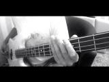 Underoath - on my teeth (bass cover)