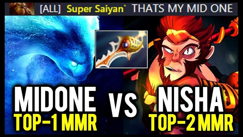 MIDONE Morphling vs Nisha Divine Rapier Refresher MK - Absolutely EPIC GAME