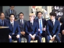 [VIDEO] 180418 Suho, Kai & Baekhyun @ Official Commemorative Medal Ceremony