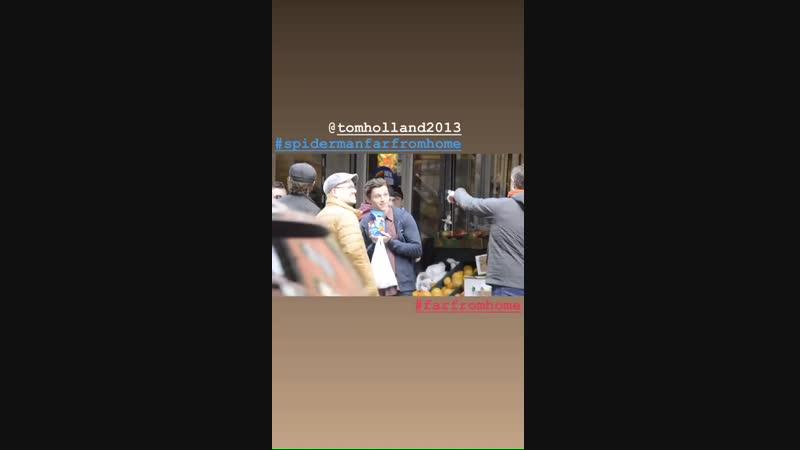 2018 › Съёмки фильма «Человек-Паук: Вдали от дома» в Бруклине | 16.10