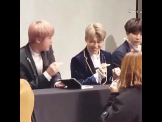 seokjin is such a little scaredy kid. jimin pretended to put his hands up as if something