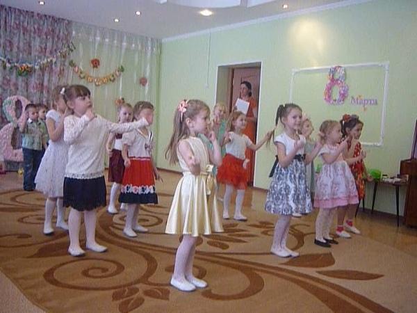 Танец Веснушки в детском саду